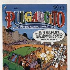 Tebeos: PULGARCITO. BRUGUERA 1986 Nº 15. Lote 14478898