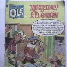 Tebeos: MORTADELO Y FILEMON - NRO. 219 - AÑO 1986 - EXCELENTE ESTADO -. Lote 26782741