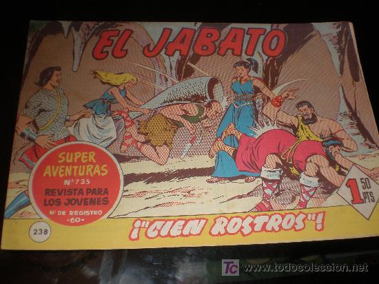 EL JABATO Nº 238 (ORIGINAL) 1963 (Tebeos y Comics - Bruguera - Jabato)