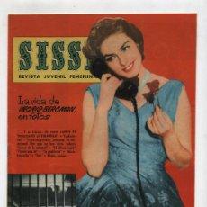 Tebeos: SISSI Nº 202. BRUGUERA 1958.. Lote 14563360