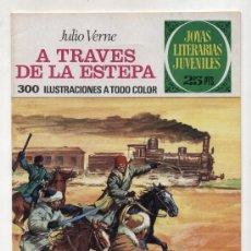 Tebeos: JOYAS LITERARIAS JUVENILES Nº 116. A TRAVÉS DE LA ESTEPA. 1977. Lote 23888582