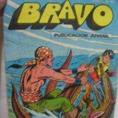 Tebeos: + BRAVO, EL CACHORRO. NUMERO 43, BRUGUERA 1976. Lote 14572940