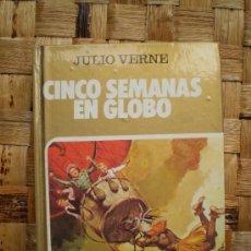 Tebeos: CINCO SEMANAS EN GLOBO - BRUGUERA - JULIO VERNE - COLECCION HISTORIAS SELECCION - 1981 - ZPW *. Lote 14674544