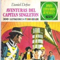 Tebeos: JOYAS LITERARIAS JUVENILES - AVENTURAS DEL CAPITAN SINGLETON Nº 10 BRUGUERA 1970. Lote 14698339
