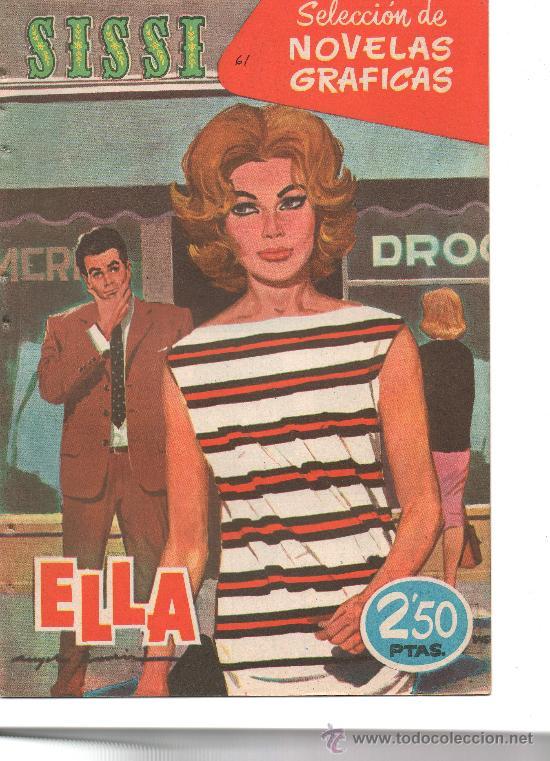 SISSI NOVELAS GRAFICAS Nº 61 (Tebeos y Comics - Bruguera - Sissi)