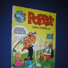 Tebeos: COLECCION BRAVO Nº 4 - POPEYE - BRUGUERA 1982. 1ª EDICION. Lote 14835512