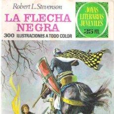 Tebeos: JOYAS LITERARIAS JUVENILES - LA FLECHA NEGRA NUM 48 1976. Lote 14925874