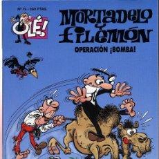 Tebeos: MORTADELO Y FILEMON. OPERACION BOMBA. 1994. Lote 27279762