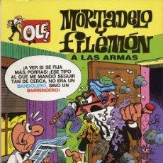 Tebeos: MORTADELO Y FILEMON. A LAS ARMAS. 1993. Lote 27279763
