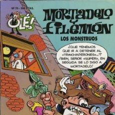 Tebeos: MORTADELO Y FILEMON. LOS MONSTRUOS. 1994. Nº 70. Lote 27279764