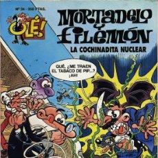 Tebeos: MORTADELO Y FILEMON. LA COCHINADITA NUCLEAR. 1993. Nº 34. PRIMERA EDICION. Lote 27279767