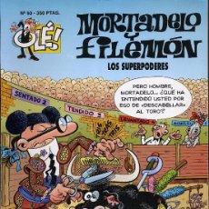 Tebeos: MORTADELO Y FILEMON. LOS SUPERPODERES. 1993. PRIMERA EDICION. Lote 27279773