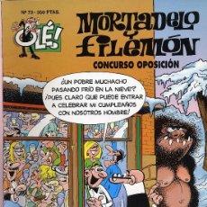 Tebeos: MORTADELO Y FILEMON. CONCURSO OPOSICION. 1994. Nº 73. PRIMERA EDICION. Lote 27279774