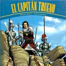 Tebeos: EL CAPITAN TRUENO 2 AVENTURAS COMPLETAS EDICIONES B TAPA DURA . Lote 14997623