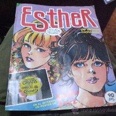Tebeos: ESTHER Y SU MUNDO .-PUBLICACION JUVENIL FEMENINA .-OCTUBRE 1.983.-. Lote 29677044