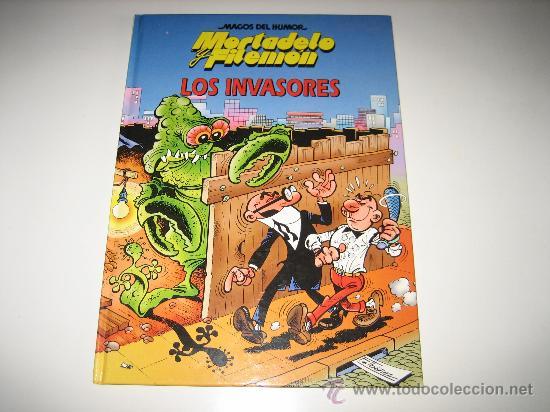 MAGOS DEL HUMOR - CIRCULO - MORTADELO Y FILEMON - LOS INVASORES (Tebeos y Comics - Bruguera - Mortadelo)