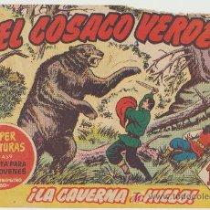 Tebeos: EL COSACO VERDE Nº 60.. Lote 15313577