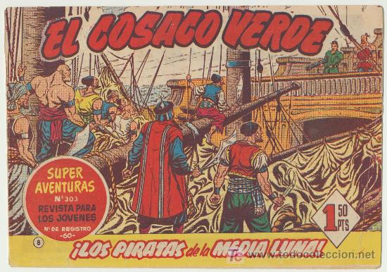 EL COSACO VERDE Nº 8. (Tebeos y Comics - Bruguera - Cosaco Verde)