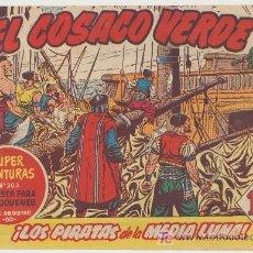 Tebeos: EL COSACO VERDE Nº 8.. Lote 25642553