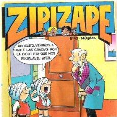 Tebeos: ZIPI Y ZAPE - Nº43 ** 1987. Lote 15328513