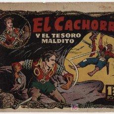 Tebeos: EL CACHORRO Nº 40. BRUGUERA 1951.. Lote 25961028