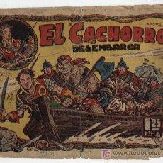 Tebeos: EL CACHORRO Nº 33. BRUGUERA 1951.. Lote 15406023