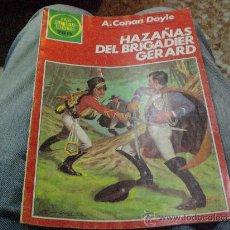 Tebeos: JOYAS LITETARIAS JUVENILES .-HAZAÑAS DEL BRIGADIER GERARD.-. Lote 25324906