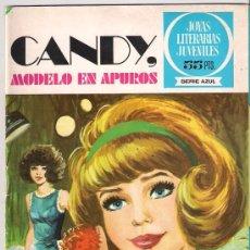 Tebeos: JOYAS LITERARIAS JUVENILES . Nº 6 .CANDY . MODELO EN APUROS . 2º EDICION. Lote 26475778