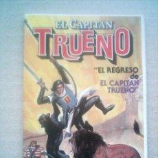 Tebeos: EL REGRESO DEL CAPITAN TRUENO BRUGUERA 1986 REEDICION MEDIDAS REDUCIDAS 15X21CM. Lote 29733167