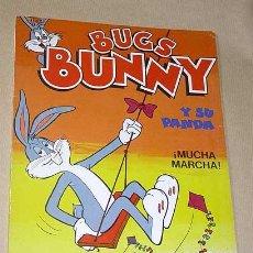 Tebeos: BUGS BUNNY Y SU PANDA ¡MUCHA MARCHA! COL. BRAVO BUGS BUNNY Nº 7. BRUGUERA 1985. WARNER BROS. ++++. Lote 24383252