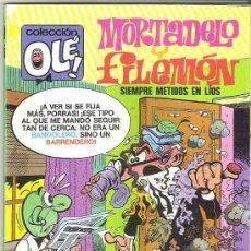 Tebeos: MORTADELO Y FILEMON - COLECCION OLE ** 1 ERA EDICION 1990 106-M 171 . Lote 15541973