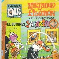Tebeos: MORTADELO Y FILEMON - COLECCION OLE ** 1 ERA EDICION 194 *** NUM 300. Lote 19242099