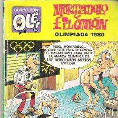 Tebeos: MORTADELO Y FILEMON - COLECCION OLE ** 1 ER EDICION 1988 *** NUM 80. Lote 16627018
