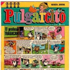 Tebeos: PULGARCITO 2238, SHERIFF KING, DOÑA URRACA, REPORTER TRIBULETE, CARPANTA, DON PIO, PETRA. Lote 17011619