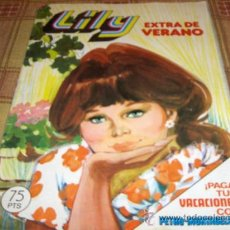 Tebeos: LILY EXTRA DE VERANO DE 1980 CON PÓSTER DE LOS BEATLES. BRUGUERA 75 PTS.. Lote 15686906