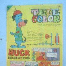 Tebeos: TELE COLOR N.12- 1963 ,EDITORIAL BRUGUERA. Lote 25014956