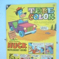 Tebeos: TELE COLOR N.24 1963 - BRUGUERA . Lote 22033583