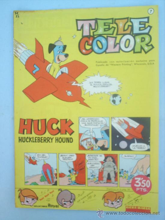 TELE COLOR N. 7 EDITORIAL BRUGUERA , 1962 (Tebeos y Comics - Bruguera - Tele Color)