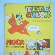 Tebeos: TELE COLOR N. 7 EDITORIAL BRUGUERA , 1962. Lote 24535628