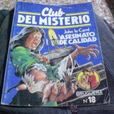 Tebeos: ASESINATO DE CALIDAD - CLUB DEL MISTERIO Nº 18.-. Lote 25698359