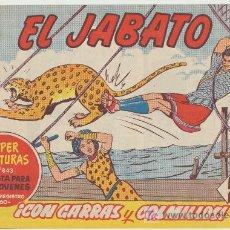 Tebeos: EL JABATO Nº 292. BRUGUERA 1958.. Lote 16123722