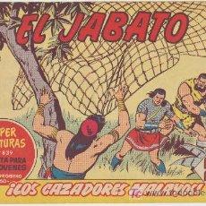 Tebeos: EL JABATO Nº 290. BRUGUERA 1958.. Lote 26993551