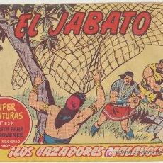 Tebeos: EL JABATO Nº 290. BRUGUERA 1958.. Lote 16123904