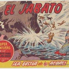 Tebeos: EL JABATO Nº 203. BRUGUERA 1958.. Lote 16124484