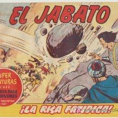 Tebeos: EL JABATO Nº 200. BRUGUERA 1958.. Lote 16124512