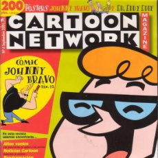 Tebeos: CARTOON NETWORK MAGAZINE Nº 4. CON JOHNNY BRAVO, VACA Y POLLO, DEXTER, ETC. EDICIONES REUNIDAS 2001.. Lote 16138918