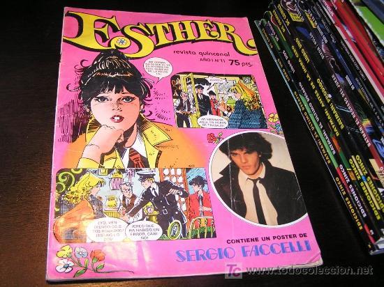 ESTHER Nº 11 1982 INCLUYE EL POSTER ARX71 (Tebeos y Comics - Bruguera - Esther)