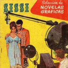 Tebeos: SISSI NOVELAS GRAFICAS Nº 63 (BRUGUERA) DIBUJOS DE FUENTES MAN, ANTONIO GARCIA, LUIS RAMOS,.... Lote 16333111