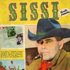Tebeos: SISSI Nº 145 (BRUGUERA, 1960) GLENN FORD EN FOTOS, PELÍCULA LA MUJER DEL LATIGO, JOSE GUARDIOLA,.... Lote 16350100