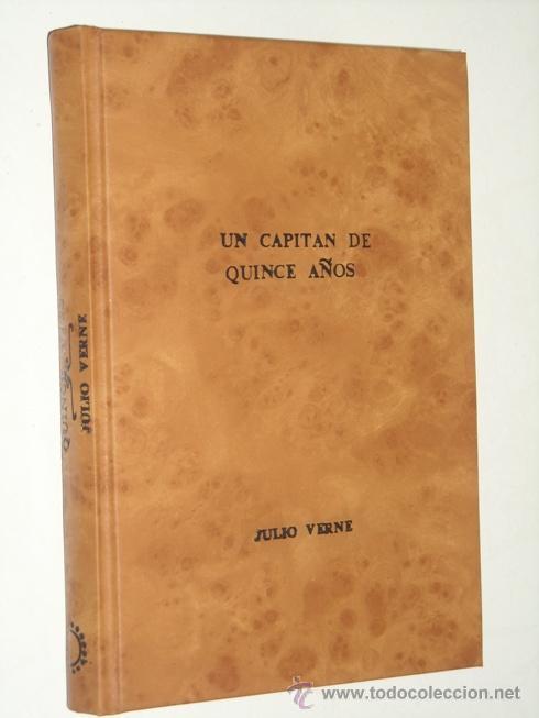 UN CAPITÁN DE QUINCE AÑOS POR JULIO VERNE DE BRUGUERA EN BARCELONA 1961 4ª EDICIÓN (Tebeos y Comics - Bruguera - Historias Selección)